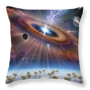Cradle Of Life Throw Pillow