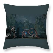 Cradle Of Links Vr Throw Pillow