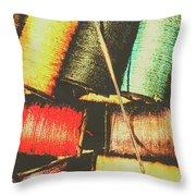 Craft Grunge Throw Pillow