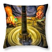Craftsman Jewelry Maker Throw Pillow