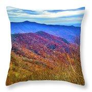 Craggy Ridge Throw Pillow