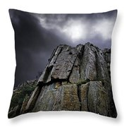 Crags Throw Pillow