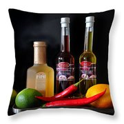 Cranberry And Fruit Throw Pillow