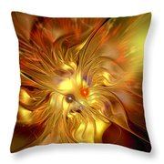 Cranial Supernova Throw Pillow