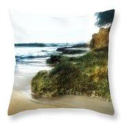 Crash Boat Beach, Pr Throw Pillow