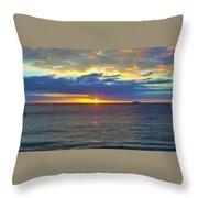 Crash Boat Beach  Throw Pillow