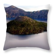 Crater Lake 1 Throw Pillow