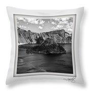 Crater Lake 17 Throw Pillow