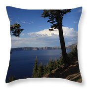 Crater Lake 7 Throw Pillow