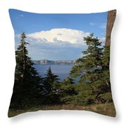 Crater Lake 8 Throw Pillow