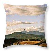 Crater Lake IIi Throw Pillow