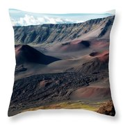 Crater Throw Pillow