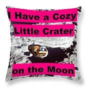 Crater12 Throw Pillow