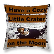 Crater13 Throw Pillow