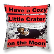 Crater15 Throw Pillow