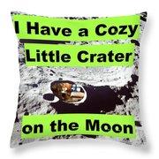 Crater18 Throw Pillow
