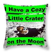 Crater19 Throw Pillow