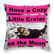 Crater24 Throw Pillow