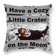 Crater27 Throw Pillow