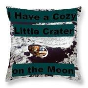 Crater28 Throw Pillow