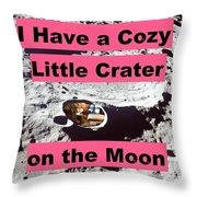 Crater29 Throw Pillow