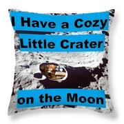 Crater30 Throw Pillow