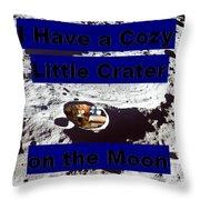 Crater32 Throw Pillow
