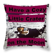 Crater33 Throw Pillow