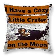 Crater34 Throw Pillow