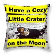 Crater4 Throw Pillow