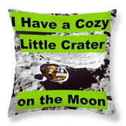 Crater5 Throw Pillow