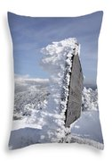 Crawford Path - White Mountains New Hampshire Usa Throw Pillow