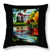 Crawley - West Sussex - England Throw Pillow