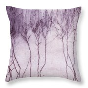 Crawling Roots Throw Pillow