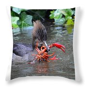 Crayfish? Throw Pillow