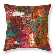 Crazy Abstract 1 Throw Pillow