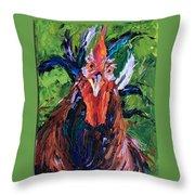Crazy Critter Throw Pillow