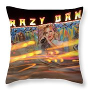 Crazy Dance Throw Pillow