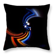 Crazy Dancer Throw Pillow