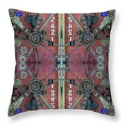 Crazy Door Throw Pillow