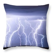 Crazy Skies Throw Pillow by James BO  Insogna