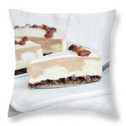 Cream Cake  Throw Pillow