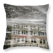 Cream City Cold Throw Pillow