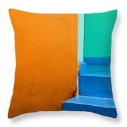 Creamsicle Throw Pillow