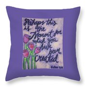 Created For Throw Pillow