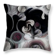 Creation And Dimension Throw Pillow