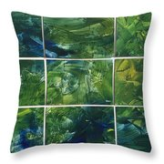 Creation - Jungle Throw Pillow