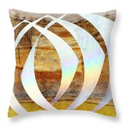 Creation Revisited Throw Pillow