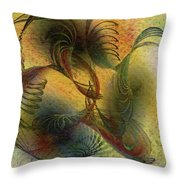 Creation Symphony Throw Pillow