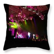 Creationfest At Night Throw Pillow